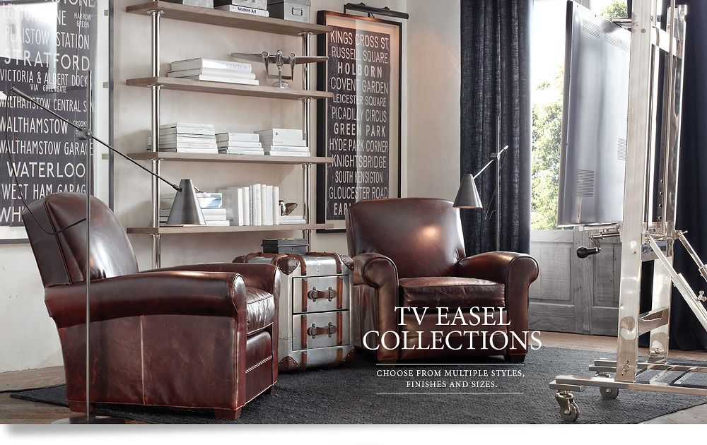 Media Collections TV Easels