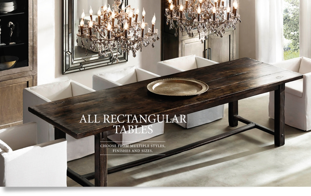 All Rectangular Tables RH : cat1537023bnrwid1000ampfmtjpegampqlt800ampopsharpen0ampresModesharpampopusm031 from www.restorationhardware.com size 1000 x 630 jpeg 131kB