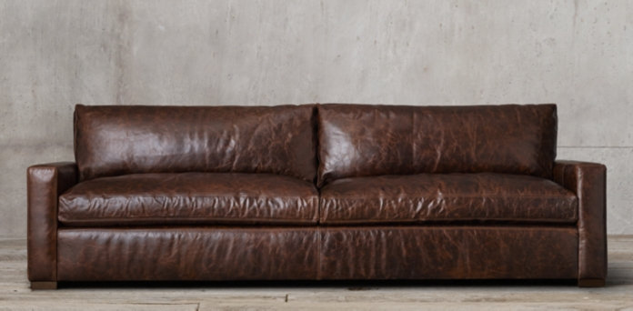 restoration hardware leather sofa Sofa Collections | RH restoration hardware leather sofa