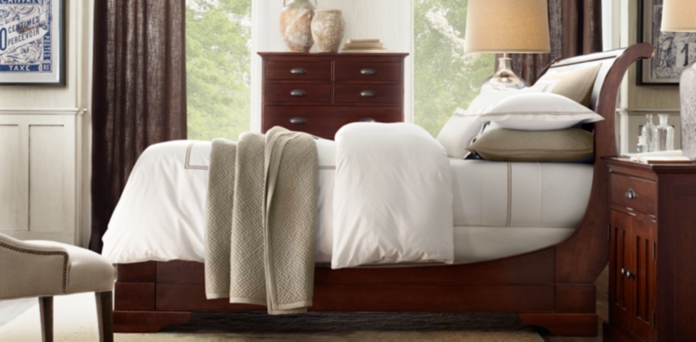 Bedroom Sets Restoration Hardware marston dark cherry | rh