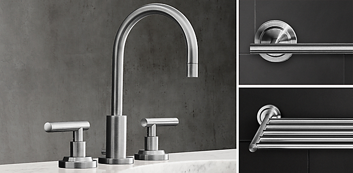 Bathroom Fixtures Restoration Hardware faucets, fittings & hardware collections | rh