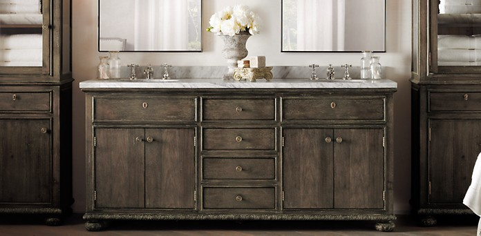 Empire rosette collection Restoration hardware bathroom