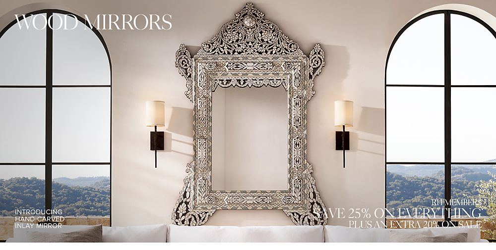 Shop Wood Mirrors
