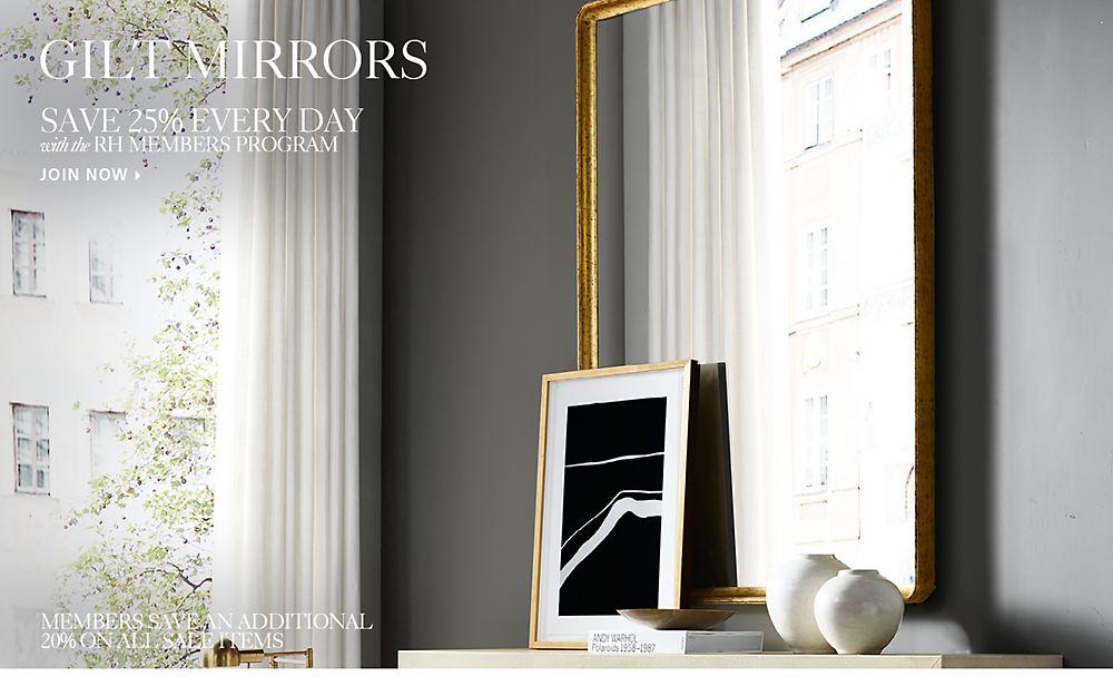Gilt Mirrors