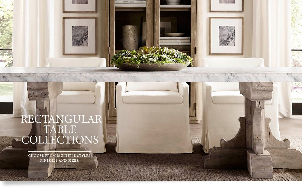 Rectangular Table Collections