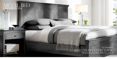 metal bed collections