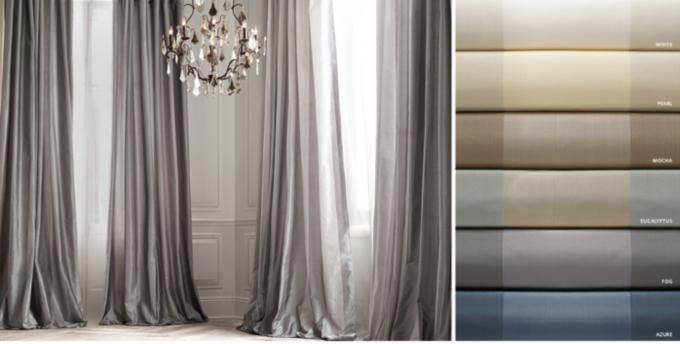 Silk Taffeta Pavilion Stripe
