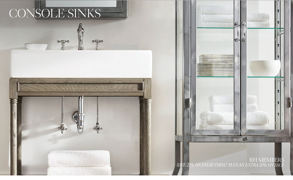 Shop All Console Sink Table Collections