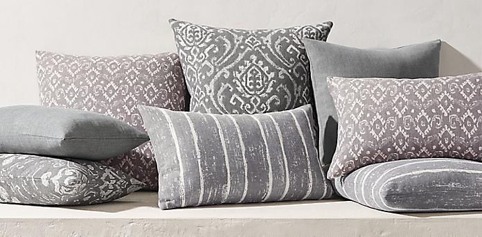 Brilliant Pillow Collections Rh Uwap Interior Chair Design Uwaporg