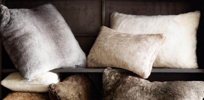 Greatest Luxe Faux Fur Pillow Collection | RH TH33