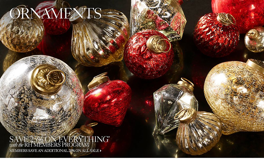 Shop Holiday Ornaments