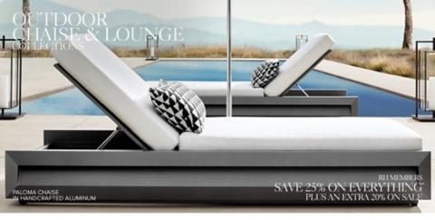 Shop Our Outdoor Chaise Collections Shop Our Outdoor Chaise Collections ...