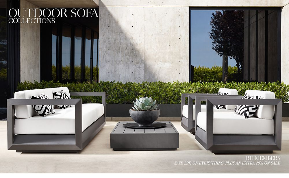 Shop Outdoor Sofa Collections