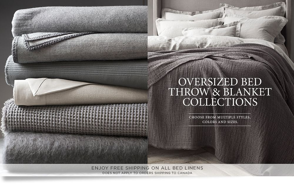 Oversized Bed Throws Blankets Amp Pillows Rh