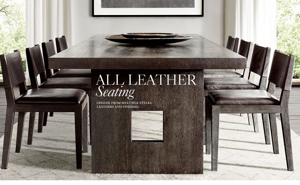 All Leather Seating