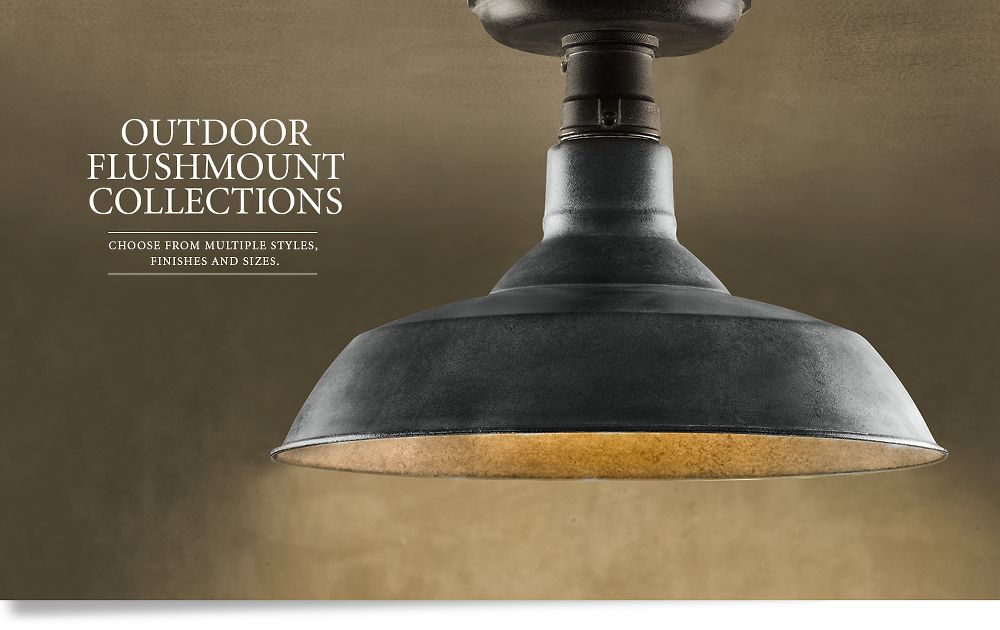 Outdoor Flushmount Collections