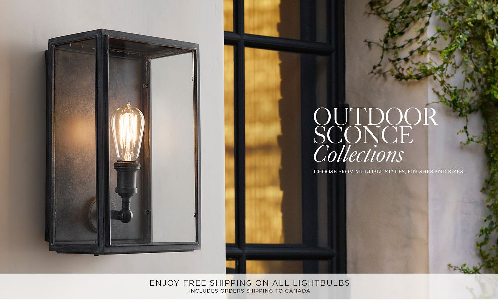 Outdoor Sconce Collections