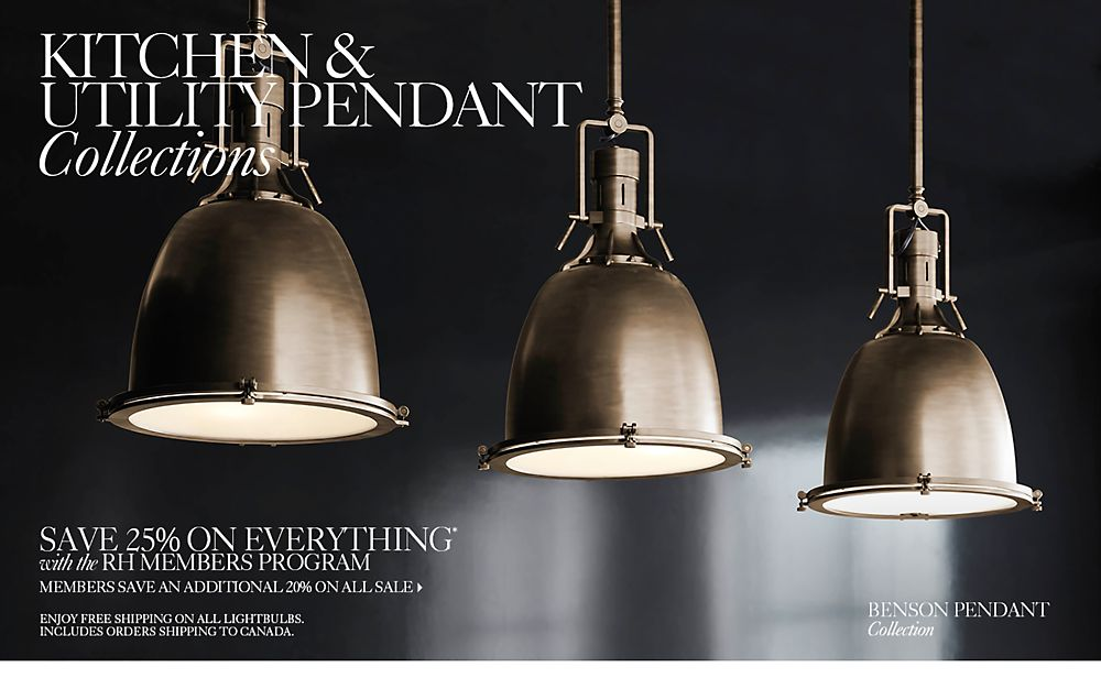 kitchen lighting collections