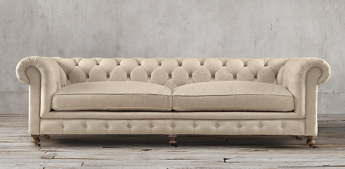 Restoration hardware sectional sofa pee cloud modular for Restoration hardware sectional sofa sale