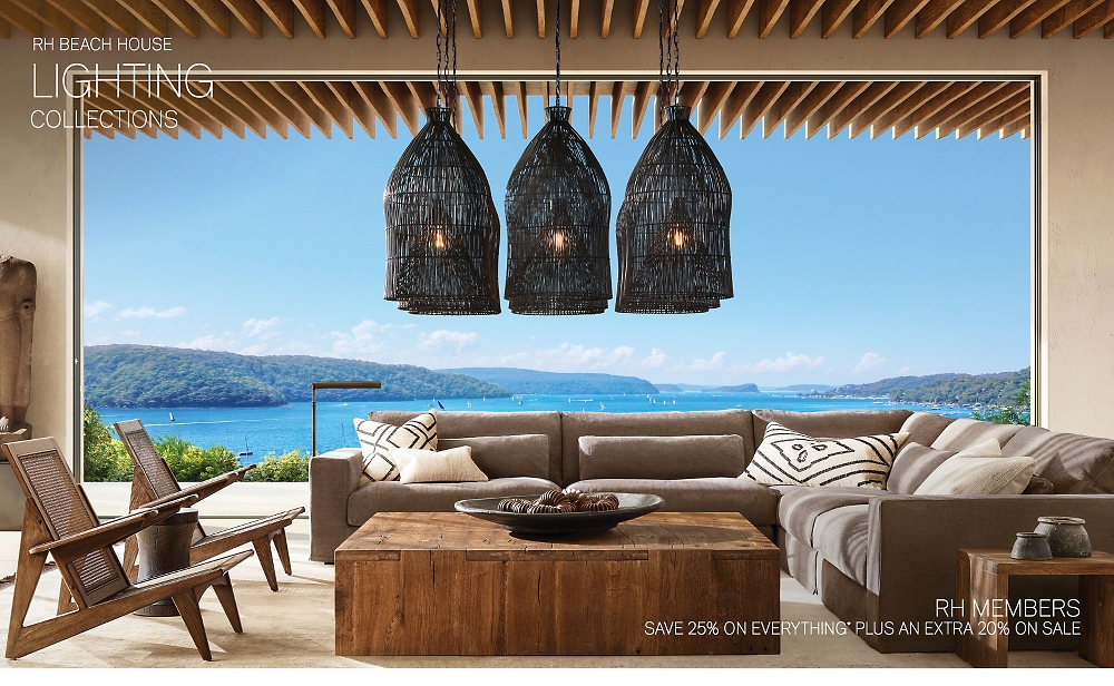 Shop RH Beach House Lighting Collections