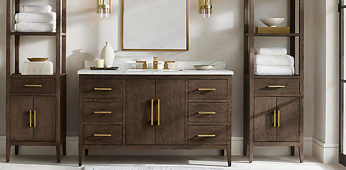 Bath Collections Rh, Restoration Hardware Bathroom Storage