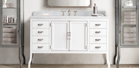Pharmacy Collection Restoration Hardware Sink E46
