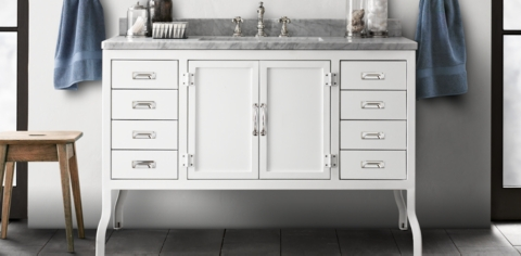 Restoration Hardware Bathroom Furniture Pharmacy Collection