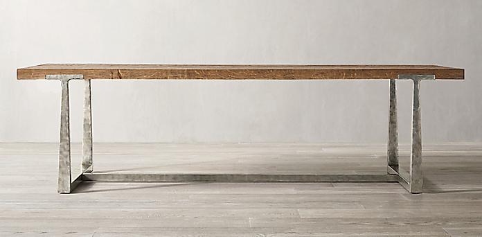 Terrific Rectangular Table Collections Rh Interior Design Ideas Inesswwsoteloinfo