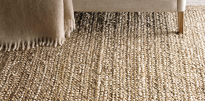 chunky braided jute rug collection | rh