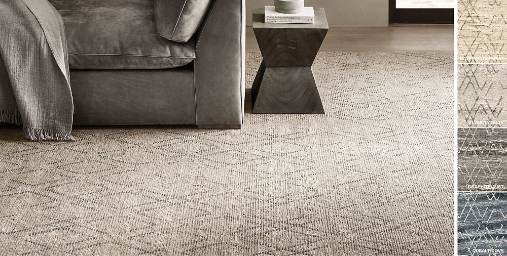 Andera Hand Knotted Wool Rug Collection Rh