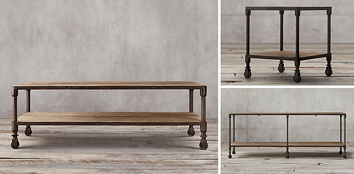Overstock's Renate Grey Coffe Table = $334.99