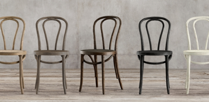 Woven Wood Metal Chair Collections RH