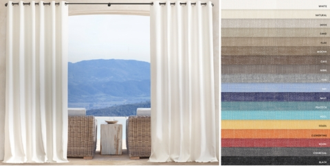 Perennials® Textured Linen Weave Outdoor