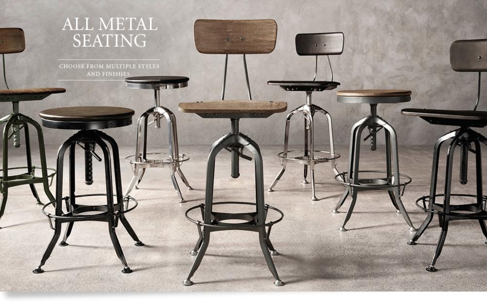 All Metal Seating Rh