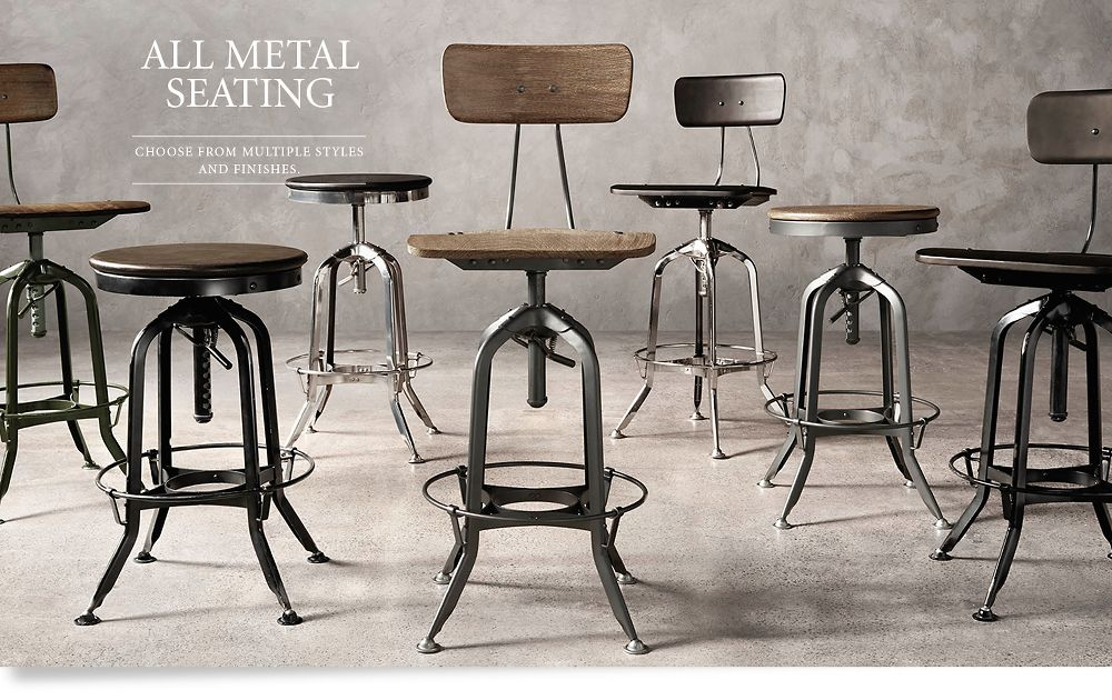 All Metal Seating