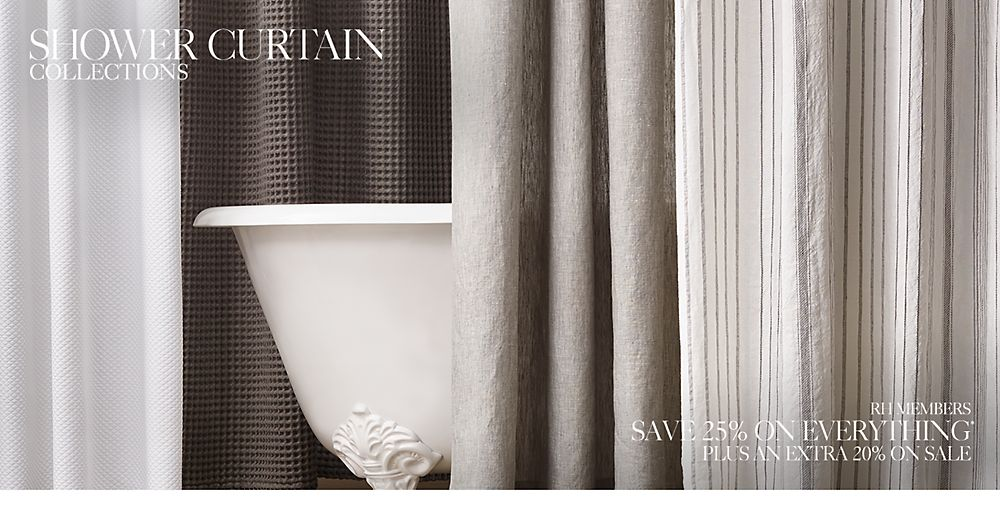 Shower Curtains | RH