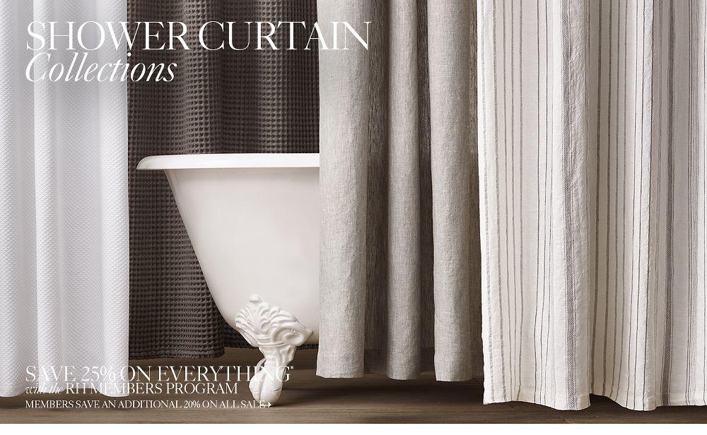 Shower Curtains | RH