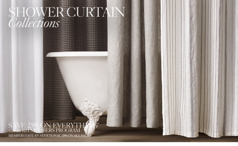 Superb Shower Curtain Collections