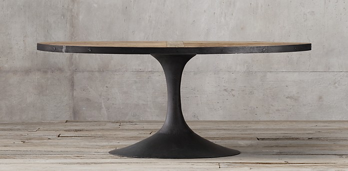 Aero Reclaimed Elm Oval Dining Table Collection Rh