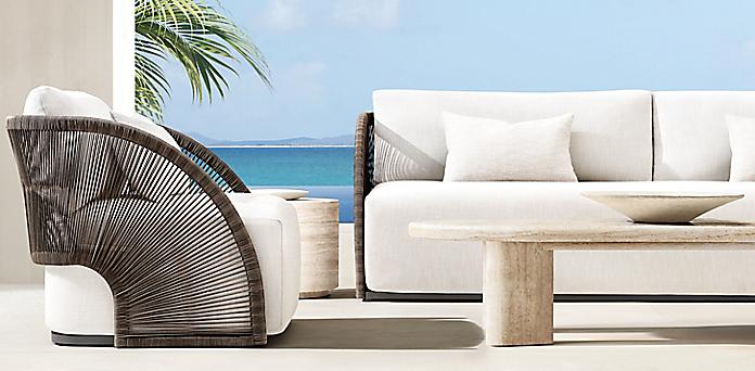All Weather Woven Rh, Restoration Hardware Look Alike Outdoor Furniture