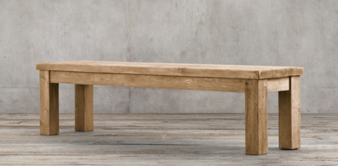 Salvaged Wood Bench Collection