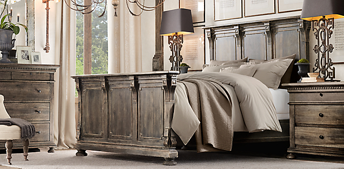 Elegant Furniture Collections. 5 . Restoration Hardware Bedroom ...