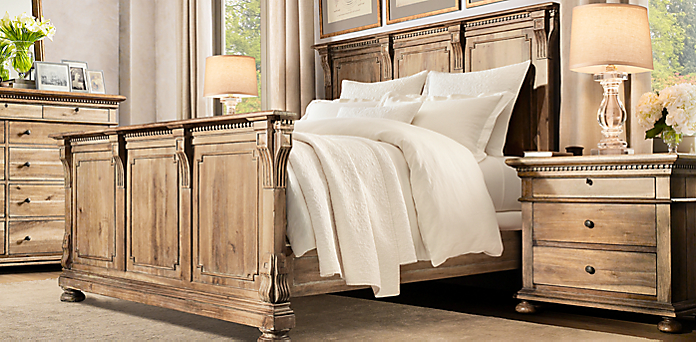 Bedroom Furniture Hardware bedroom collections | rh