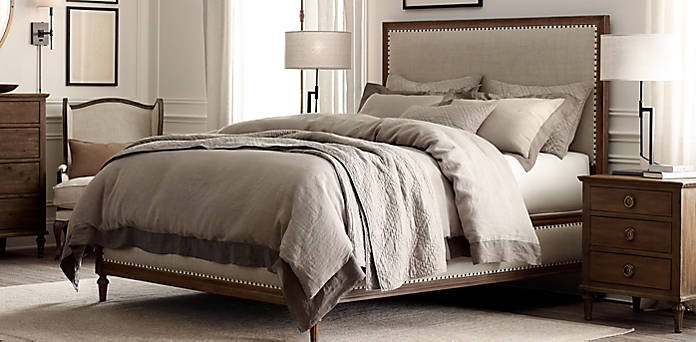 Maison Bedroom Collection - Antiqued Coffee | RH