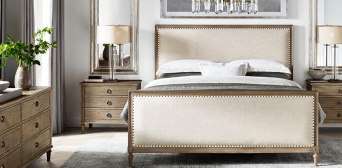 Restoration Hardware Bedrooms Maison Bedroom Collection  Antiqued Grey  Rh
