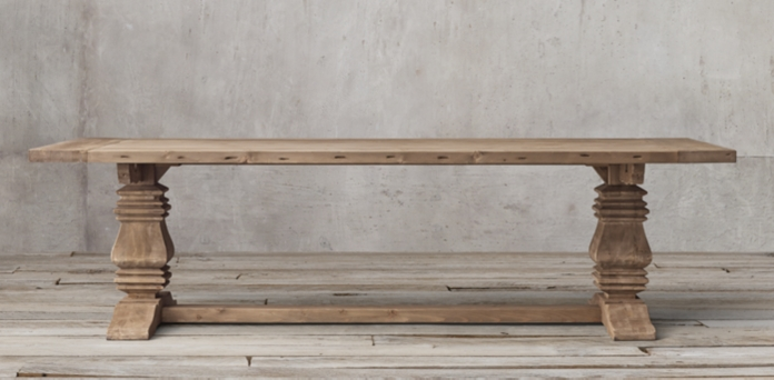 salvaged wood trestle collection salvaged natural rh