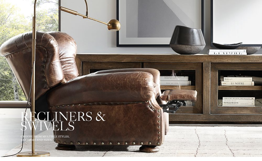 Leather Recliners and Swivels