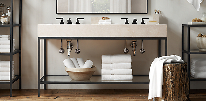 Bath Collections RH - Restoration hardware bathroom mirrors for bathroom decor ideas