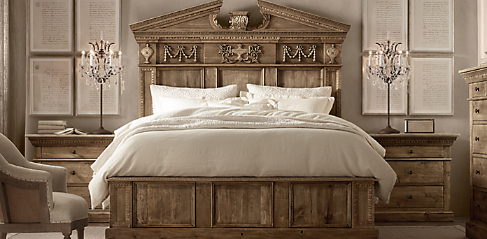 Entablature Bedroom Collection | RH