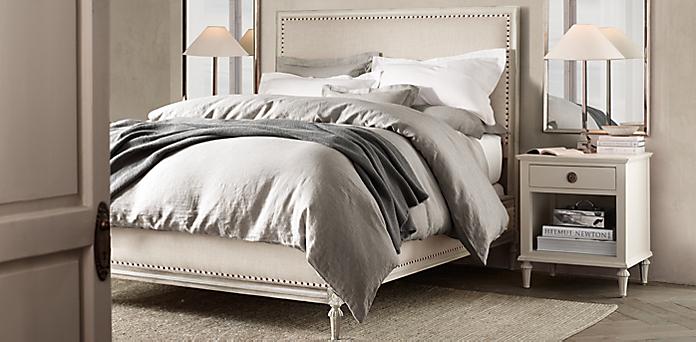Maison Bedroom Collection - Antiqued White | RH